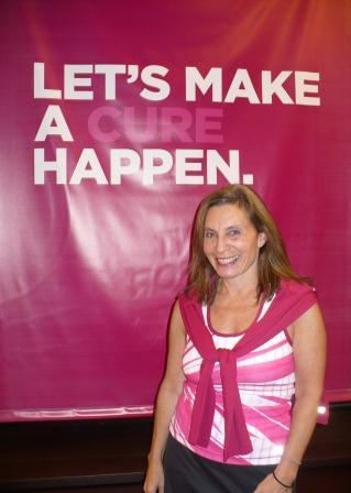 Breast Cancer Freebies founder Bethany at Let's Make A Cure Happen
